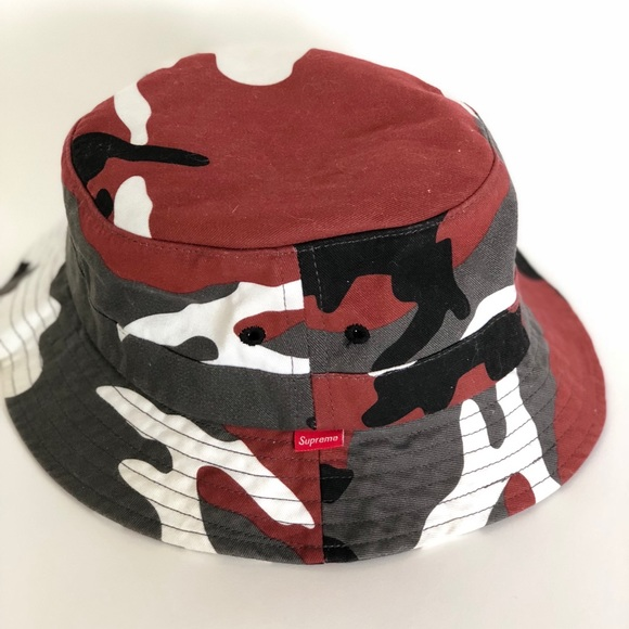 f6f5cfb66 Men's Supreme urban camouflage bucket hat sm/med